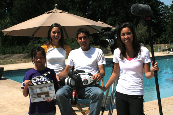 Zach King On Set