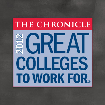 The Chronicle: Great Colleges to Work For 2012